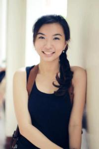 erika gue, now a stunning young lady and a third year college student at dlsu