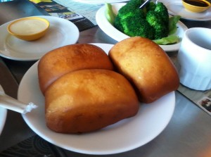 fried bread with the sweet cream dip, another fave np delicacy