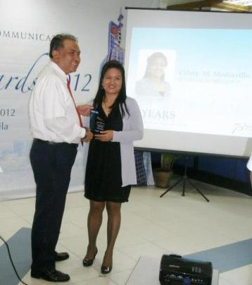 the 20th year service awardee