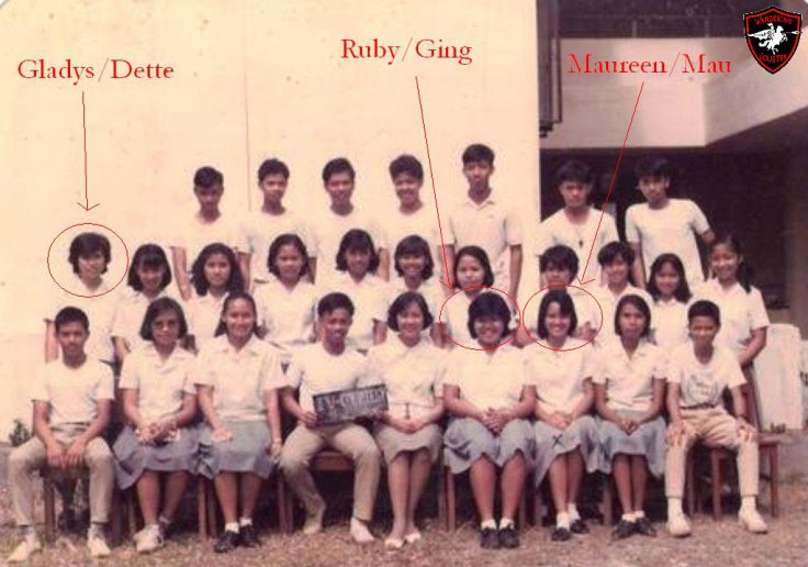 IV-courtesy class picture buhs 1986