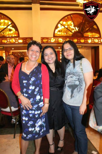 arch arianne with her mama and younger sister, tintin