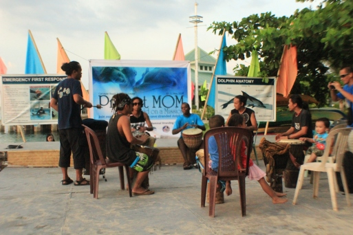 providing the jamaican beat and atmosphere