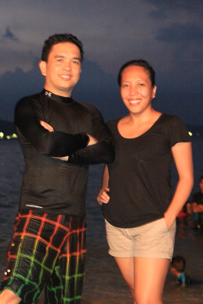 yula with her tito joseph,  looking thirytish at 47