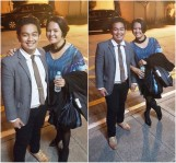 With Andrei Antonio, my first batch of CMS student and who's now an ABS-CBN asset